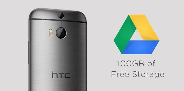 100GB darmowej przestrzeni w Google Drive dla posiadaczy urządzeń HTC 16