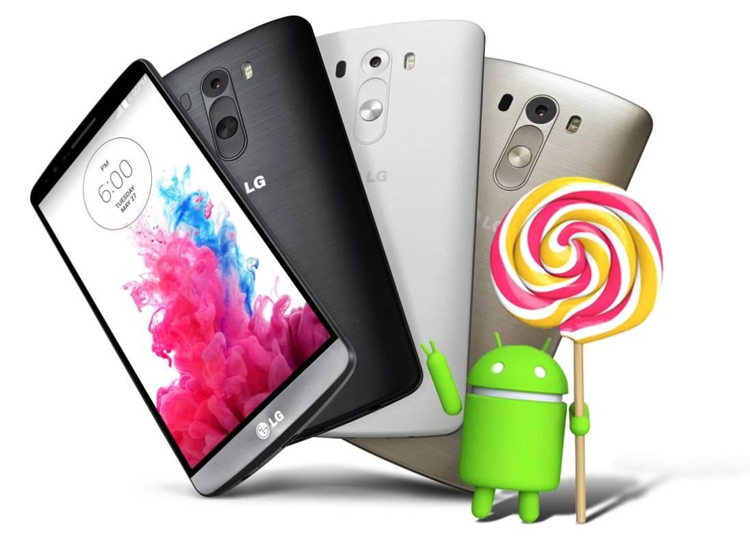 LG G3 bez Androida 5.1 Lollipop 19