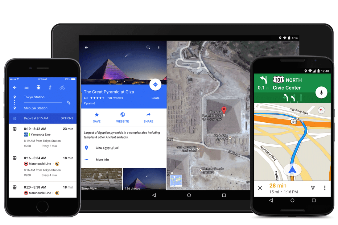 Mapy Google w Material Design do pobrania! [APK] 19