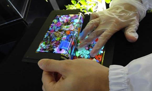 Tabletowo.pl 8,7-calowy ekran Super AMOLED zginany na 3 razy? Ciekawostki Technologie