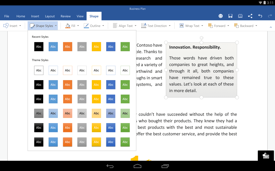 Tabletowo.pl Dotykowy Office dla iOS i Androida wcale nie taki darmowy? Aktualizacje Ciekawostki Microsoft