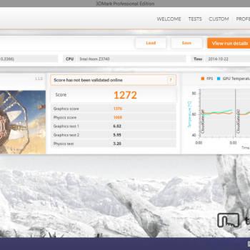 Dell Venue 8 Pro - 3DMark - Cloud Gate