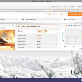 Dell Venue 8 Pro - 3DMark - IceStorm Unlimited