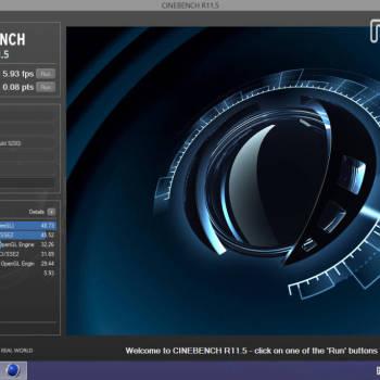 Dell  Venue 8 Pro - Cinebench2