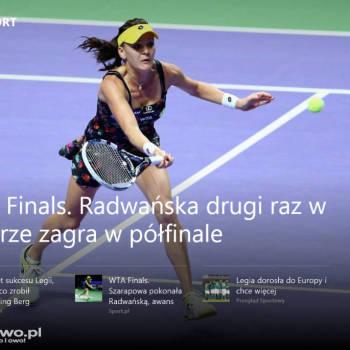 Dell Venue 8 Pro - program sport