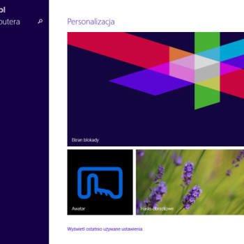 Dell Venue 8 Pro - Ustawienia, personalizacja