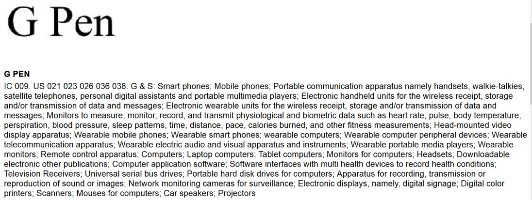 LG zarejestrowało znak towarowy G Pen. Będzie stylus na miarę S Pen? 24