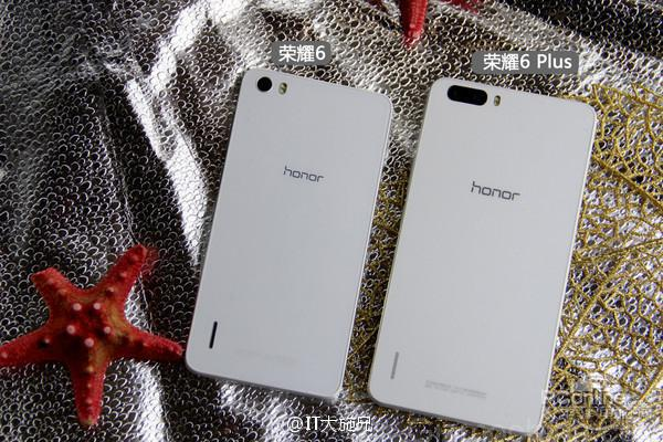 Honor 6 vs 6 Plus