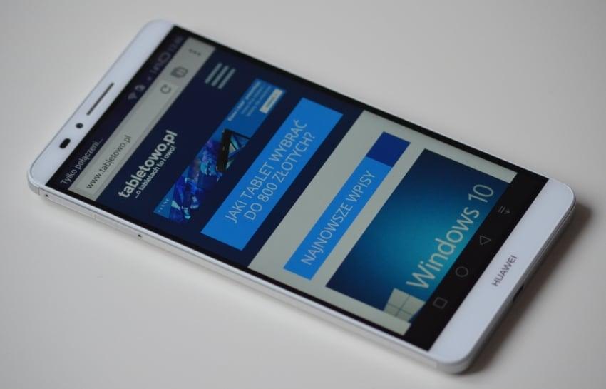 """Tabletowo.pl Recenzja Huawei Ascend Mate 7 – wielki, ciekawy """"kumpel"""" Android Huawei Recenzje Smartfony"""