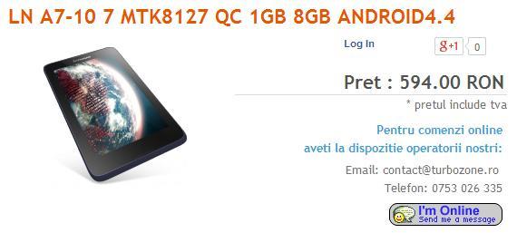 Tabletowo.pl Lenovo odświeży swoją serię najtańszych tabletów. Tab 2 A7-10F i Tab 2 A7-30F nadchodzą Android Lenovo Plotki / Przecieki Tablety