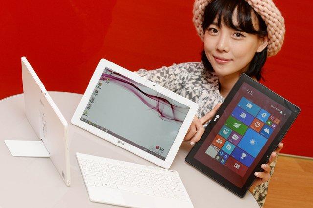 Tabletowo.pl LG Tab Book Duo to koreańska hybryda za 670 dolarów Hybrydy LG Nowości Windows