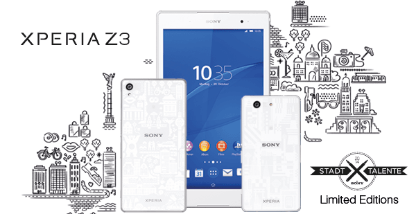 Sony serwuje limitowaną edycję urządzeń Xperia Z3 i ujmuje w niej Polskę 20