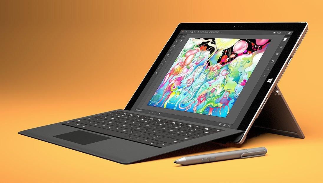 """Surface Pro 3 wciąż sprzedaje się """"znakomicie"""" 16"""