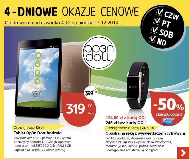 Promocja: Op3n Dott za 319 złotych - w Tesco przez cztery dni