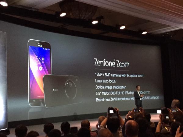 Asus Zenfone Zoom, czyli pierwszy phablet z 3-krotnym zoomem optycznym. Za 399 dolarów 20