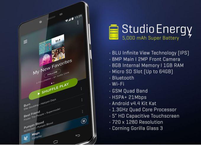 BLU na targach CES pokazał aż 7 nowych smartfonów! 18