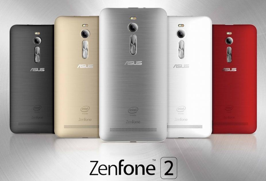 Zenfone 2 będzie dostępny w wielu wersjach - z procesorami Intela, Qualcomma i Mediateka