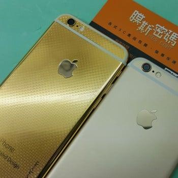 iphone złoty 8