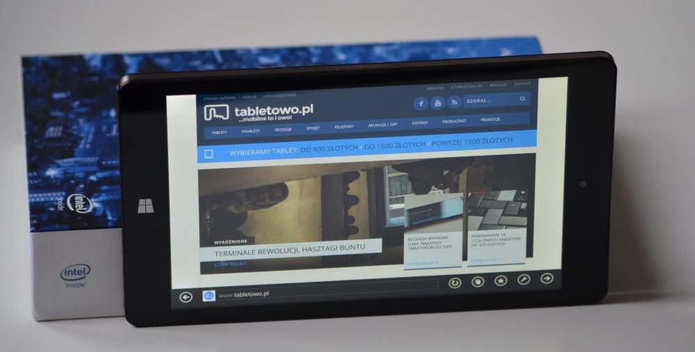 Recenzja tabletu Kiano Intelect 8 3G MS