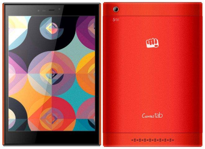 Micromax Canvas Breeze Tab P660 to 7,85-calowy tablet z dual sim i 3G 29