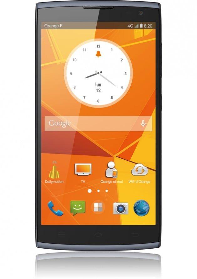 Tabletowo.pl Orange Nura to nowy phablet pomarańczowego operatora stworzony przez Alcatela Alcatel Android Chińskie Nowości Smartfony