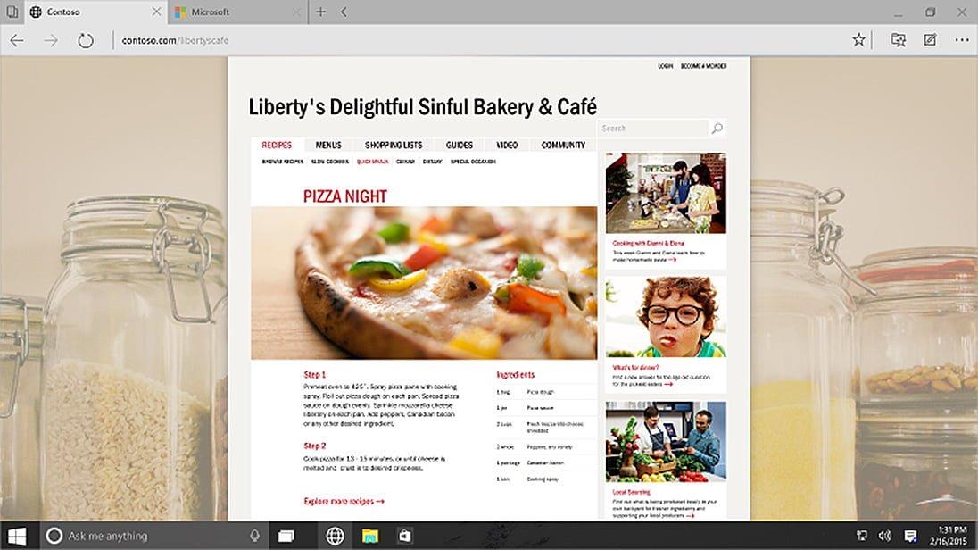 Spartan i Internet Explorer, czyli zamieszanie z przeglądarkami w Windows 10 20