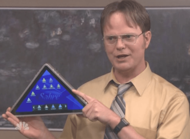 Triangle tablet