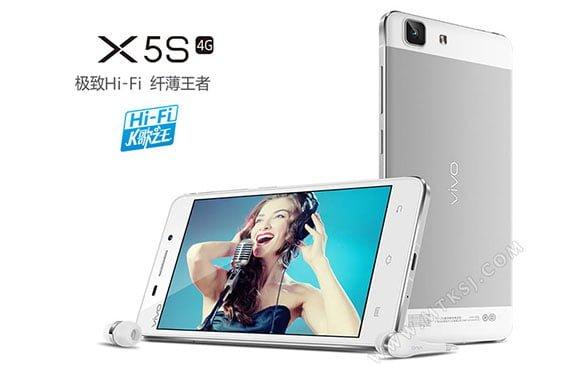 Tabletowo.pl 5-calowy Vivo X5S z ośmiordzeniowym procesorem oficjalnie Android Chińskie