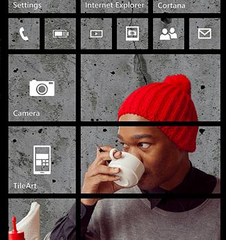 Tabletowo.pl Pionowe kafelki i świetna #TileArt dla Windows Phone Aktualizacje Microsoft Nokia Windows