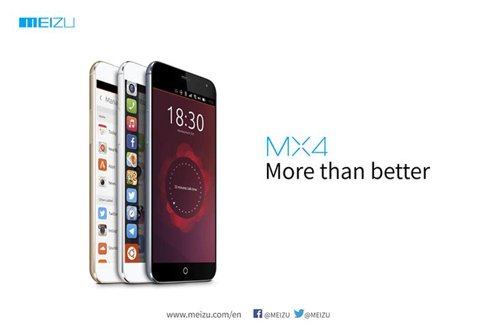 Tabletowo.pl Meizu na MWC pokaże model MX4 z systemem Ubuntu Meizu Smartfony Ubuntu