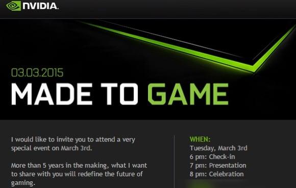 Tabletowo.pl NVIDIA rozsyła zaproszenia na event. Czego możemy się spodziewać? Nowości NVIDIA Wydarzenia