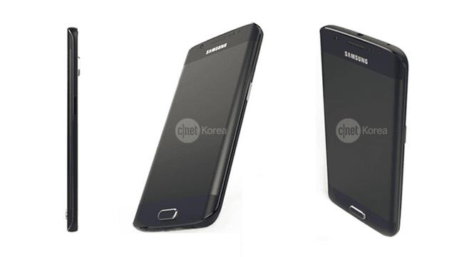 Zdjęcie prasowe Samsunga Galaxy S6 Edge
