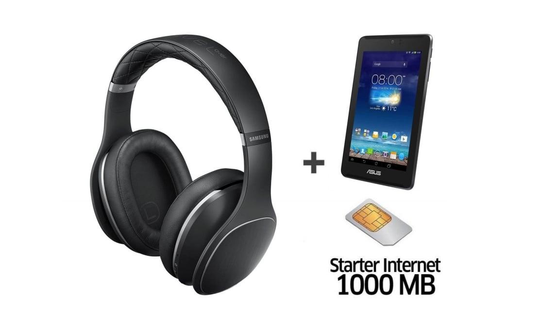 Ciekawa promocja: słuchawki Samsung Level Over z Asusem Fonepad LTE gratis