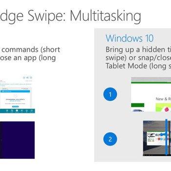 Adaptive UX - kolejne informacje o interfejsie Windowsa 10 23