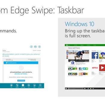 Adaptive UX - kolejne informacje o interfejsie Windowsa 10 22