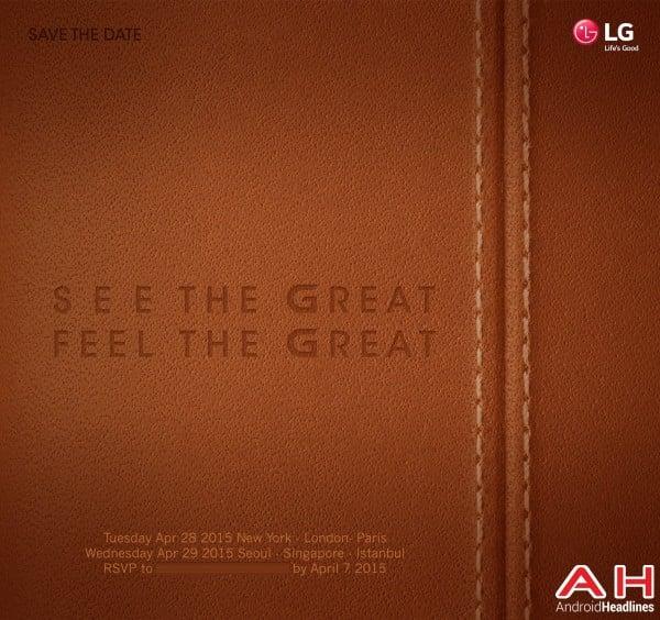 Tabletowo.pl LG rozsyła zaproszenia na premierę G4 - na 28 kwietnia Android LG Smartfony