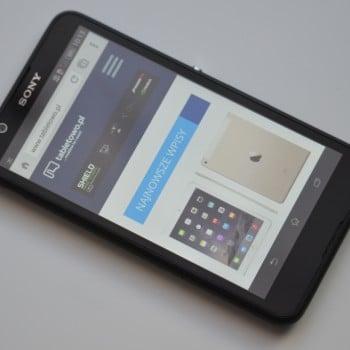 Tabletowo.pl Recenzja Sony Xperia E4 Android Recenzje Smartfony Sony