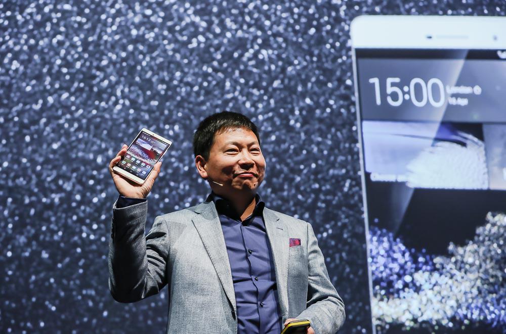 Dziś światło dzienne ujrzał olbrzymi Huawei P8 Max