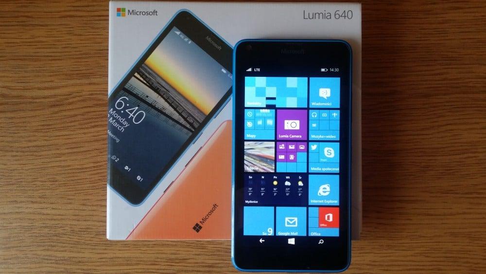 Testujemy Microsoft Lumia 640 Lte Ciekawy Smartfon Ze