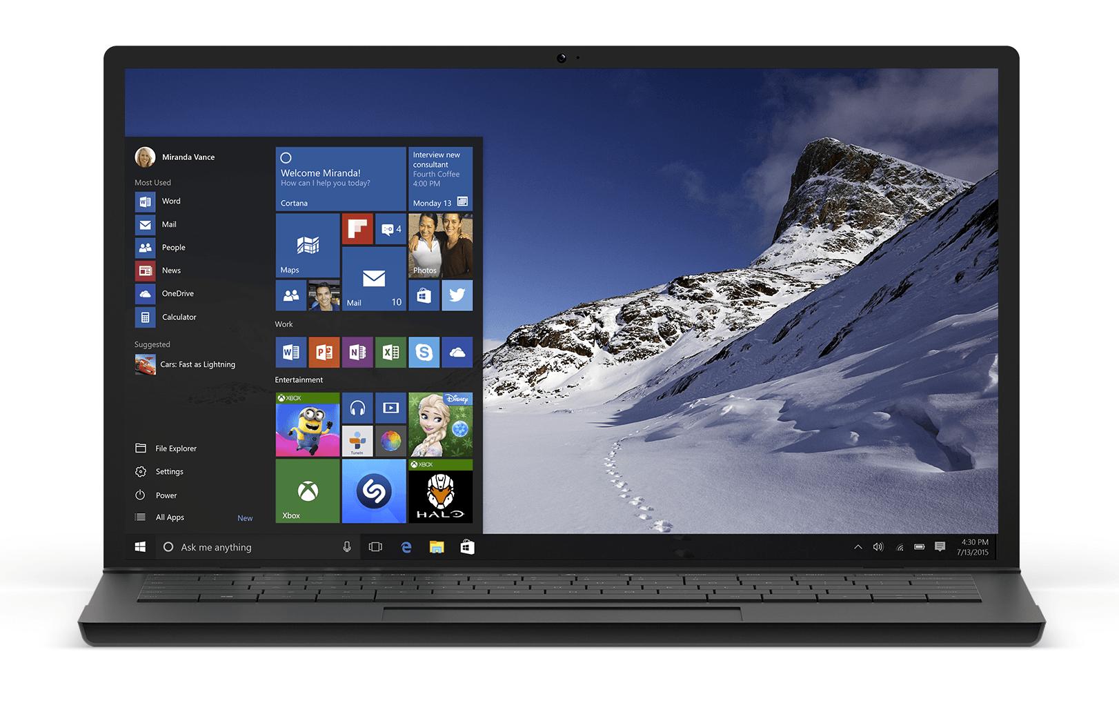 Windows 10 zostanie udostępniony już 29 lipca!