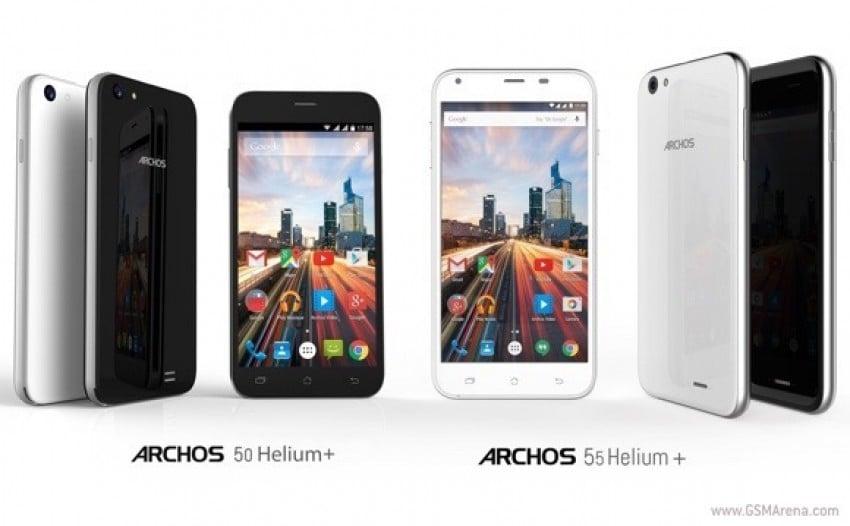 Archos 50 55 Helium Plus