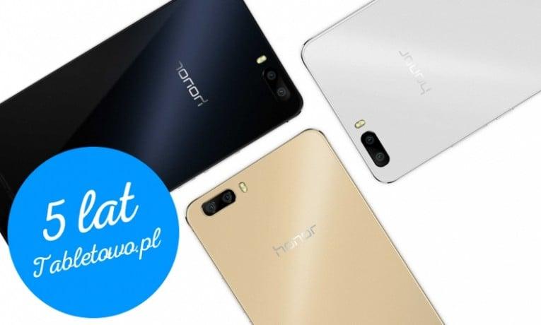 Sprawdź czy wygrałeś jeden z pięciu smartfonów Honor 6 Plus!