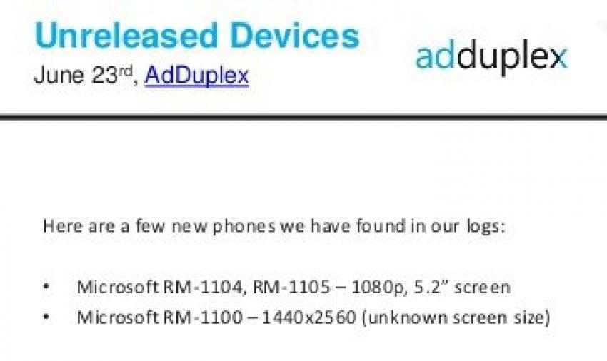 Microsoft Lumia 940 Adduplex