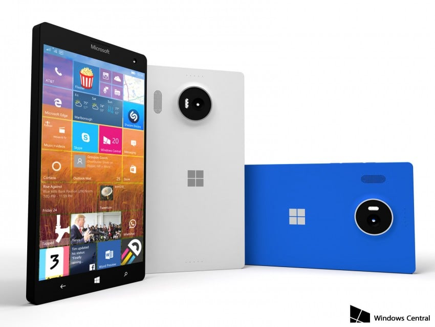Lumia 950 XL render 1