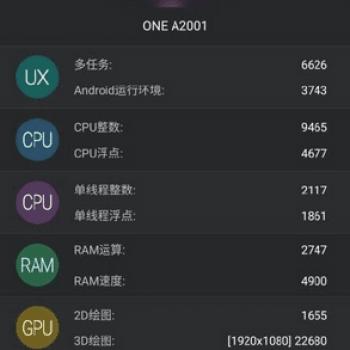 OnePlus 2 benchmark AnTuTu 1