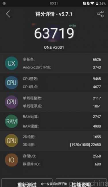 OnePlus 2 na dzień przed premierą zawodzi w benchmarku AnTuTu 21