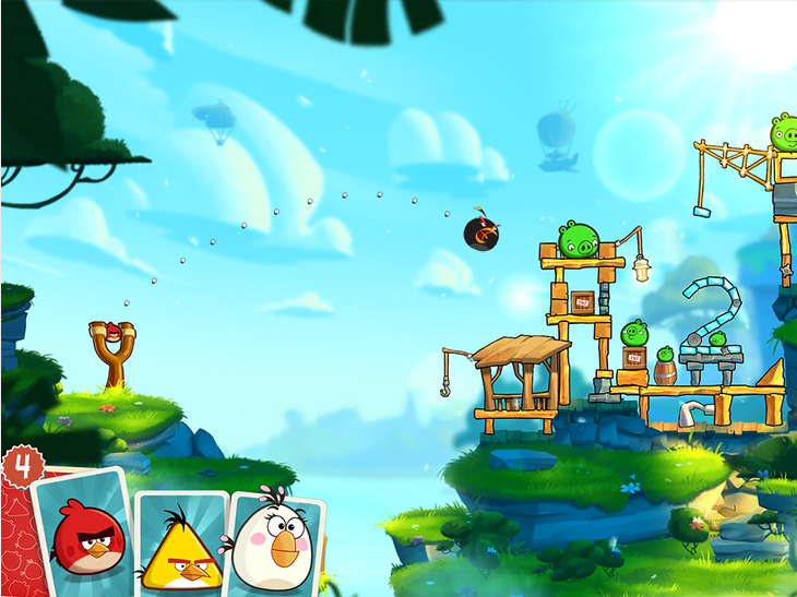Angry Birds 2 Apk Data Full Android  یاری بۆ ئه‌ندرۆید