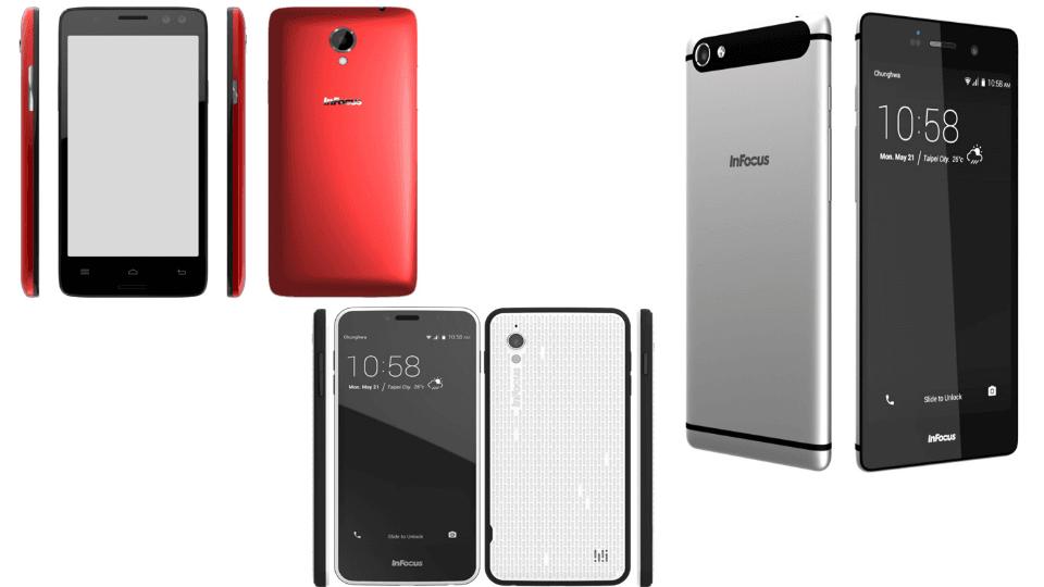 Tabletowo.pl InFocus wprowadza do oferty trzy nowe smartfony, z których jeden oferuje ekran 3D Android Nowości Smartfony