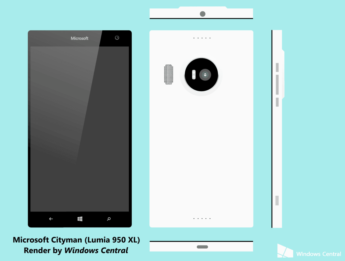 Tak mogłaby wyglądać Lumia 950 XL 25
