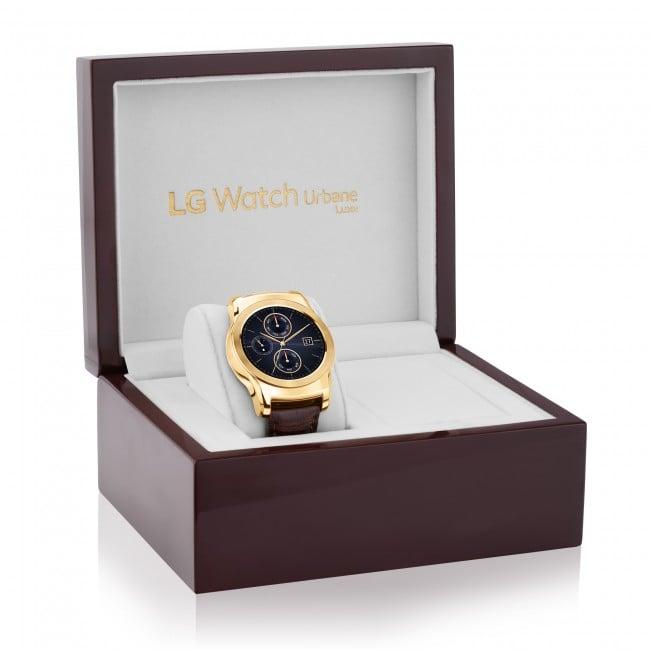 Tabletowo.pl LG wprowadza limitowaną serię Watch Urbane Luxe z obudową pokrytą 23-karatowym złotem Android Ciekawostki LG Wearable